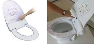 couvre siege wc protection de lunette de wc saniprotect