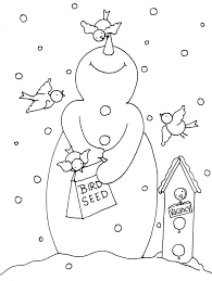 787 christmas colouring pages kids images