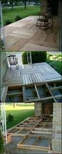 how to build a wood pallet deck wood pallets outdoor spaces and