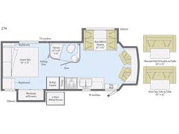 Type B Motorhome Floor Plans Winnebago Aspect Class C Motorhomes General Rv