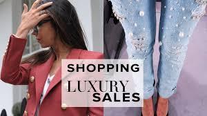 buying designer clothes in the harrods sale vlog sophie