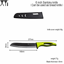 top brand kitchen knives online shop perfect design xyj brand santoku kitchen knife