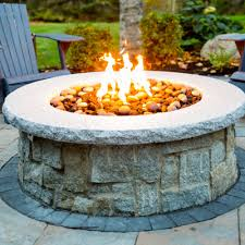 Custom Gas Fire Pits - custom gas firepit outdoor gas firepits
