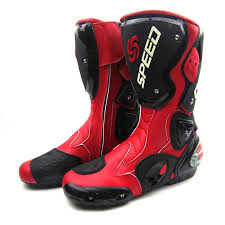 long road moto boot 2016 leather motorcycle boots pro biker speed racing motocross boots