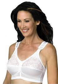 back hook back hook mastectomy comfort plus bra by jodee plus size