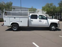 used 2008 chevrolet silverado 3500hd service utility truck for