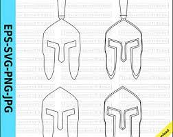 spartan helmet etsy