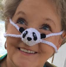 panda nose warmer winter nose cover unisex outdoor sporting