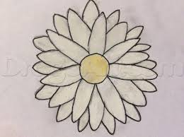 simple daisy for kids step by step flowers for kids for kids