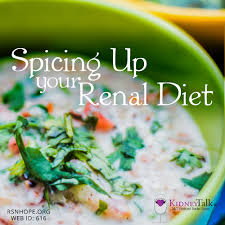 spice up your renal diet renal support network