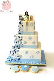 baby blue baby shower cake u0026 cookies custom baby shower cakes