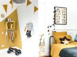 objet deco chambre bebe objet deco chambre fille jaune moutarde deco chambre denfant objet