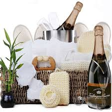 spa gift basket chagne for two spa gift basket gourmet gift baskets for all