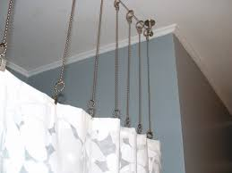 L Shaped Shower Rail L Shaped Shower Curtain Rod In Nursery Contemporary With Ceiling