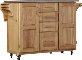 kitchen island with stainless steel top barrel studio kinch kitchen island with stainless steel top