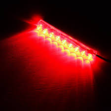 zitrades 2pack red color motorcycle car 9cm 9 led neon accent
