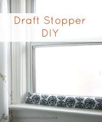 Curtains For Drafty Windows Draft Dodgers 9 Diy Creations To Keep Out The Cold Draft