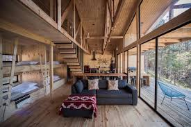 simple pine wooden shed includes spacious living room and awesome