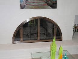 Fireplace Screens Glass Doors by Fireplace Glass Doors And Screens Custom Handcrafted Fireplace Doors