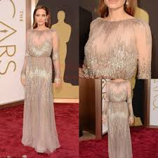 86th oscars 2014 red carpet angelina jolie academy awards long