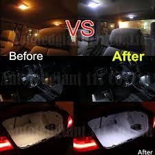 Car Interior Leds Aliexpress Com Buy Wljh 20x Canbus Bright White Car Interio
