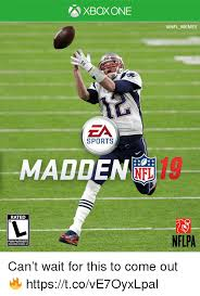 Xbox One Meme - xbox one za sports maddene rated nflpa for patriots in super bowl