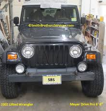 lifted jeep wrangler pictures smith brothers services lifted jeep wrangler tj meyer drive pro