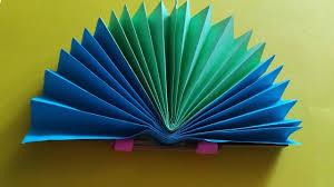 how to make a paper fan easy diy paper fan craft summer paper fan diy paper fan backdrop