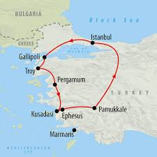 Bosphorus Strait Map Anzac Day Tour Of Gallipoli 9 Days On The Go Tours Za