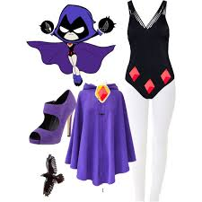 raven teen titans enisbest09 polyvore featuring polyvore