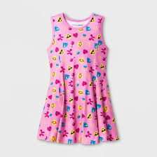 sun dress smiley emoji sun dress pink target
