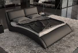 eco modern furniture modern eco leather bed w curves