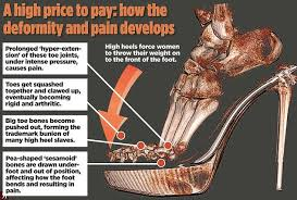 womens boots for bunions high heels 3d scan shows stilettos cause unsightly clawed toes