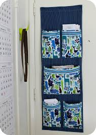 Mail Organizer Wall Diy Project Sew A Fabric Mail Organizer For The Wall