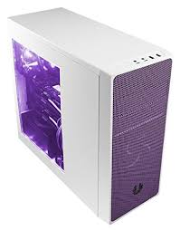 purple led lights for computers amazon com bitfenix computer case bfc neo 100 wwwkp rp white and