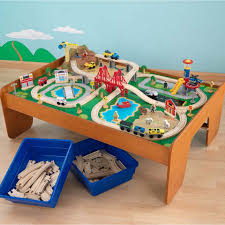 furniture home kmbd train and track activity table featuretrain