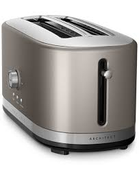 Red Toasters For Sale Kitchenaid Kmt4116 Architect 4 Slice Long Slot Toaster Created