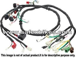 wiring harness cd100 ks with fuse swiss motorcycle parts for hero