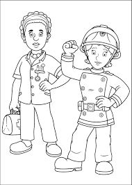 attractive fireman sam pictures to print colouring pages 2