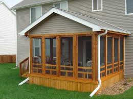 enjoy contended relaxing moments by designing screened in porches