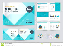 free download layout company profile template e brochure design template business and page layout for