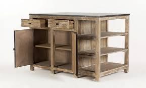 cuisine bois et fer ilot de cuisine en bois great cuisine with ilot de cuisine en bois