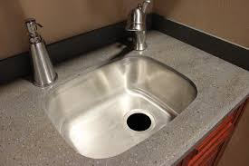 Corian Countertop Edges Lansen Edge Stainless Steel Sink Under Corian Lava Rock Beverin