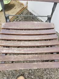 wood slat sold 7539 pair of outdoor iron u0026 wood slat chairs u2013 jennijunk
