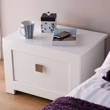 small bedroom end tables contemporary design small glossy white end table for bedroom with