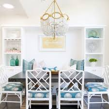 Aqua Dining Room by Perfect Chandelier Size For Dining Room To Choose Small Design