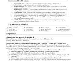 some exle of resume resume templates sales representative exles sle inside