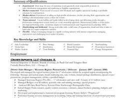 some exle of resume resume templates sales representative exles sle inside