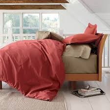 Red Duvet Set Bold Red Duvet Cover Comforter Cover And Sham