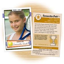 custom tennis cards retro 50 series cards